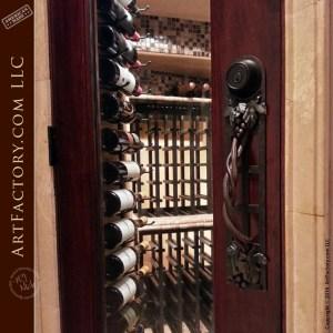 custom grape vine door handle