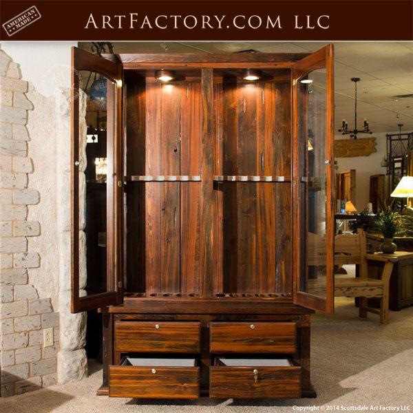 Custom Gun Cabinet Custom Designed Fine Art Gun Safe Display