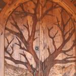 hand carved designer doors