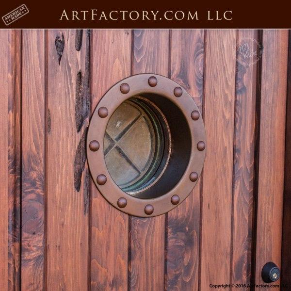 Nautical Exterior Custom Door Uss Mispillion Portal