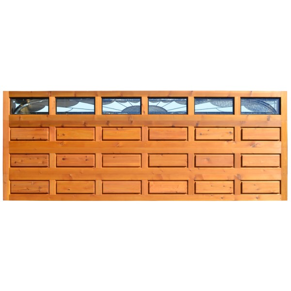 craftsman style wood garage door