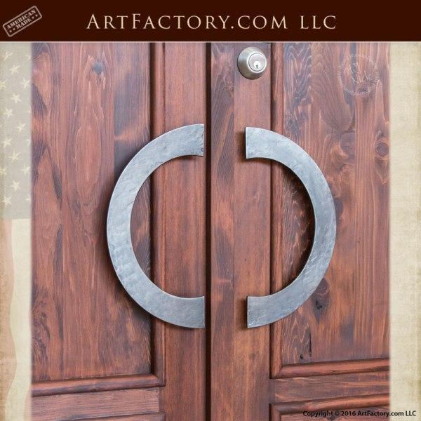 contemporary custom door pulls