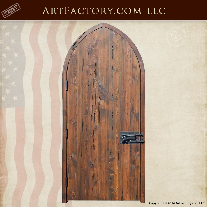 Cathedral Arched Custom Door