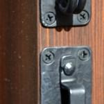 Custom Double Slide Latch Wrought Iron