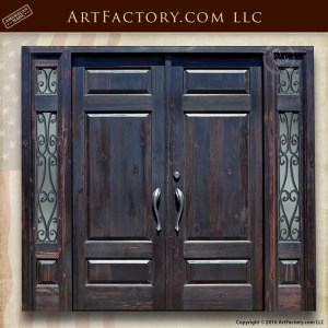 Solid Castle Style Wood Door