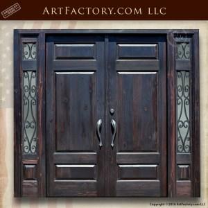 Solid Castle Style Wood Door
