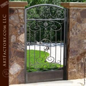 Fine art garden gate