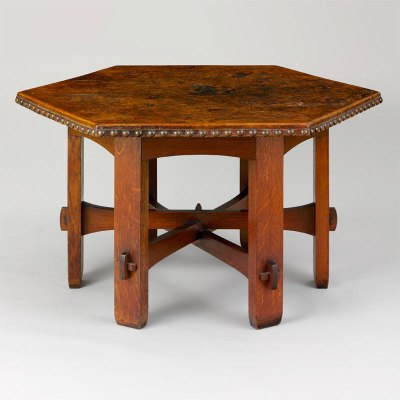 Gustav Stickley Library Table Number 625