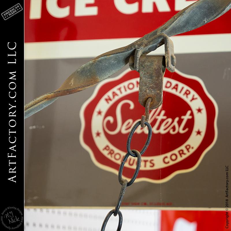 Sealtest Ice Cream Vintage Sign