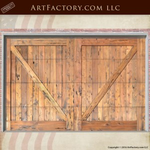 Cross Buck Garage Doors