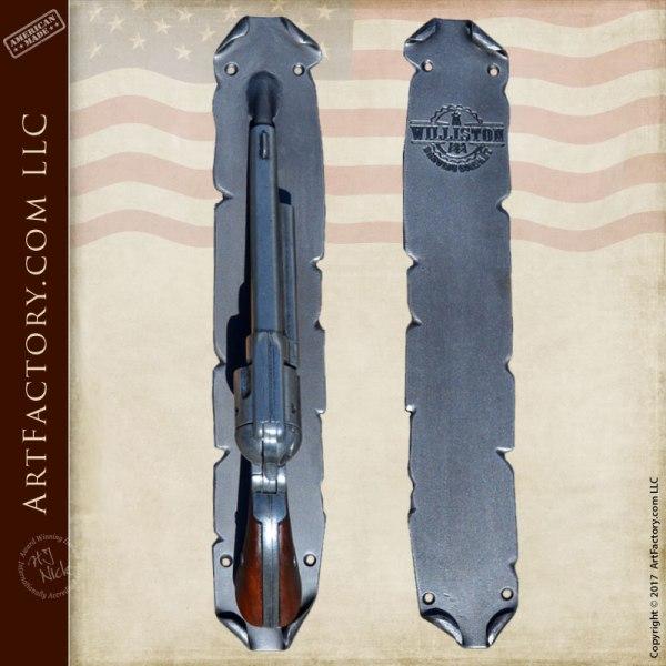 custom pistol door handles