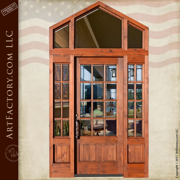 French grand entrance door