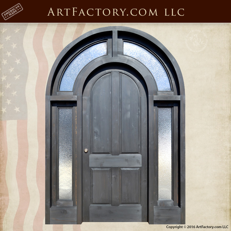 Arched-Wood-Glass-Entrance-Doors