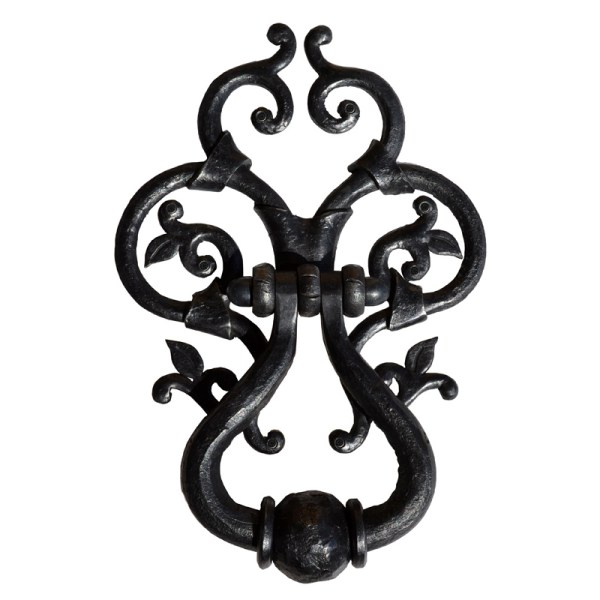 Hand Forged Door Knocker 14th Century Style