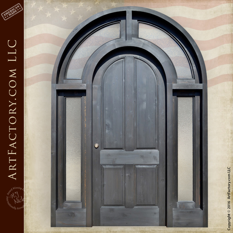 Full Arched Grand Entrance Door Full Arched Grand Entrance Door
