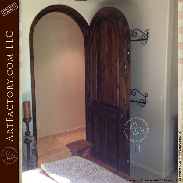 Arched wooden door custom handmade interior doors arched wooden door custom handmade interior doors at4010 planetlyrics Choice Image