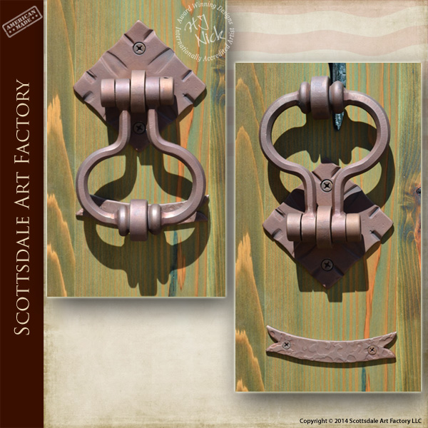 Designer Door Knocker Wrought Iron