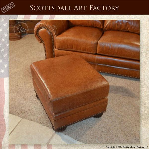 Custom Leather Traditional Design Sofa Chair Set