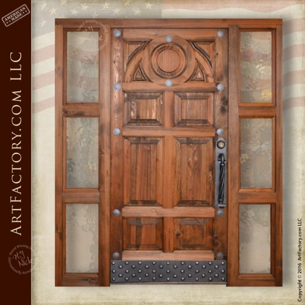 Bucharest inspired front door