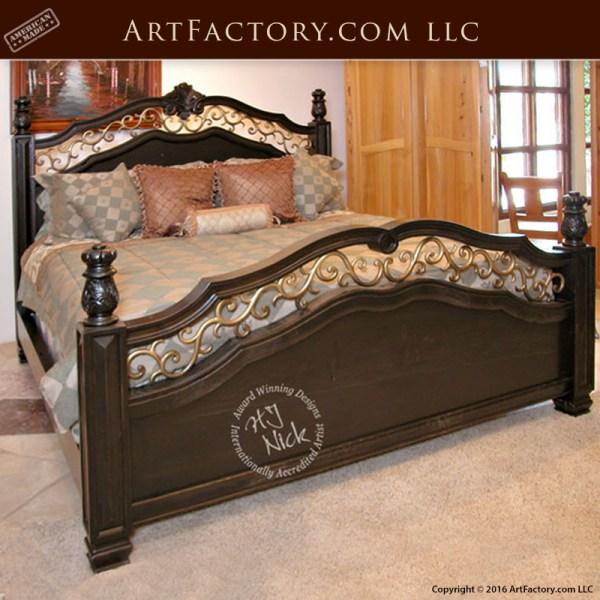 Decorative-iron-bedroom-furniture