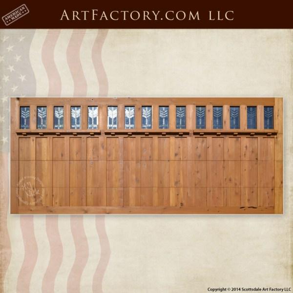 craftsman style garage doors
