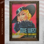 Mae West I'm No Angel Poster