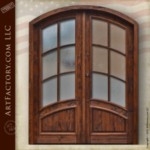 custom French panel door