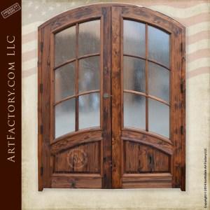 custom French panel door