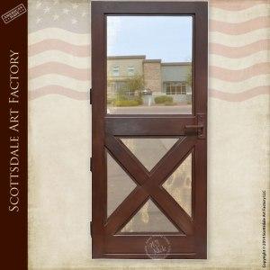 Custom Iron Screen Door