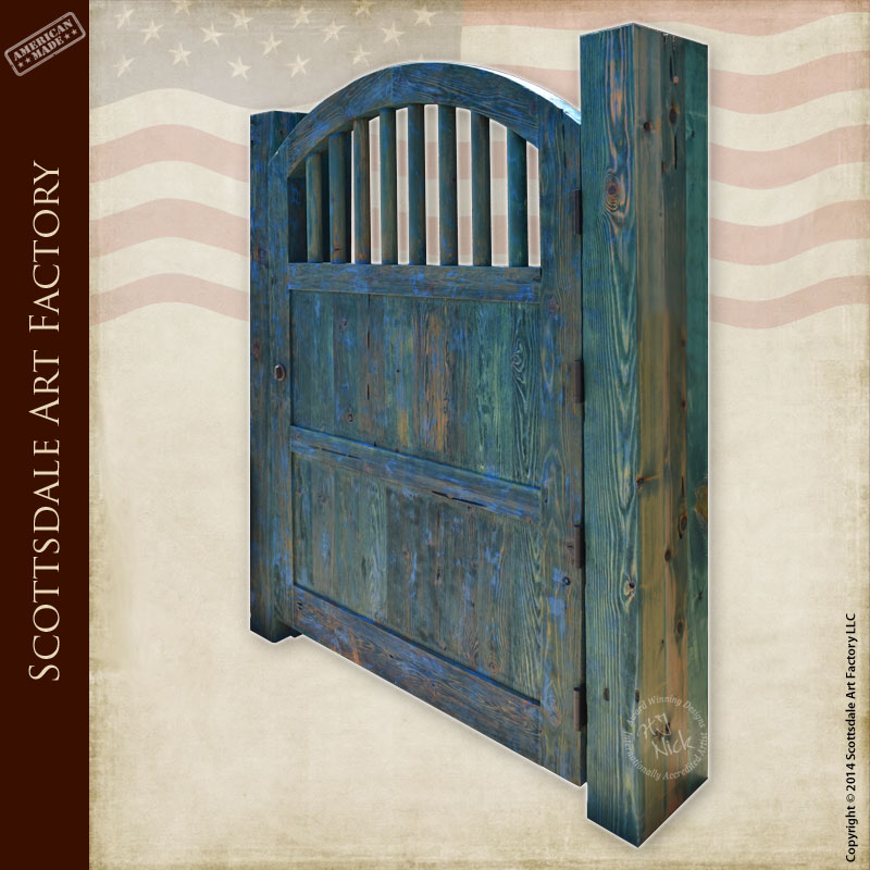 Arch Top Wood Gate  Custom Wood Gate Designs Any Style