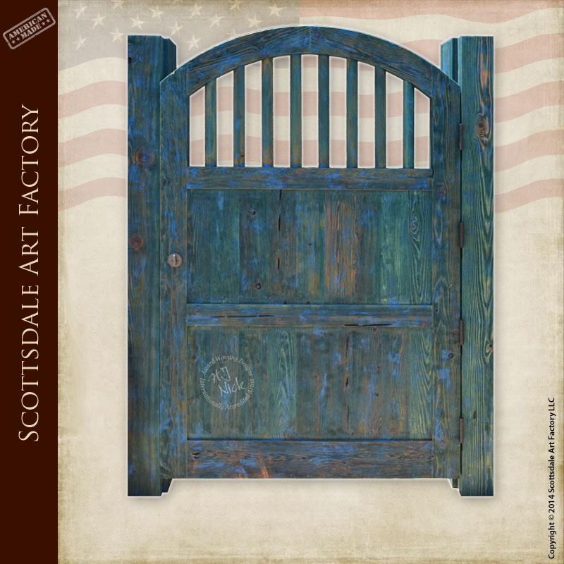 craftsman style kitchen cabinet doors round rugs arch top wood gate - custom designs any ...