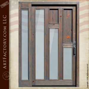 Modern Contemporary Craftsmen Door