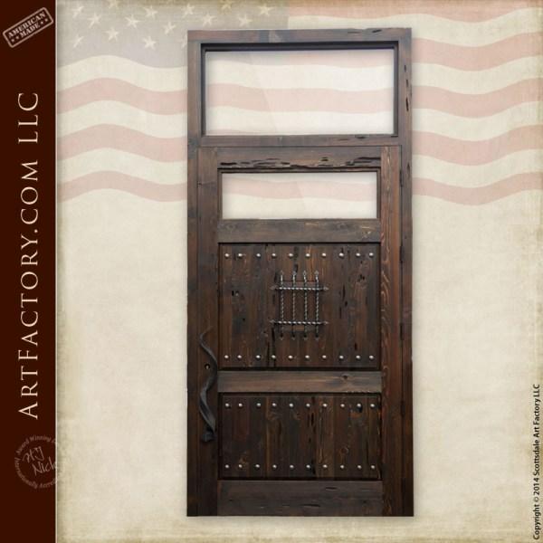 custom fortress entrance door