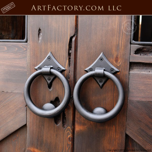 custom ring door pulls