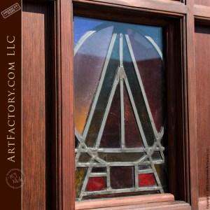 custom wooden cathedral door
