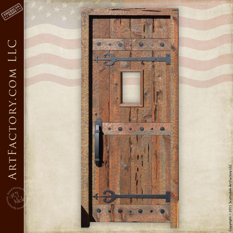 medieval entrance door