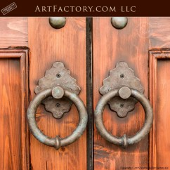 Vintage Kitchen Knobs And Pulls Mid Century Chairs Custom Castle Entrance Doors: Iron Speakeasy Grill & Strap ...