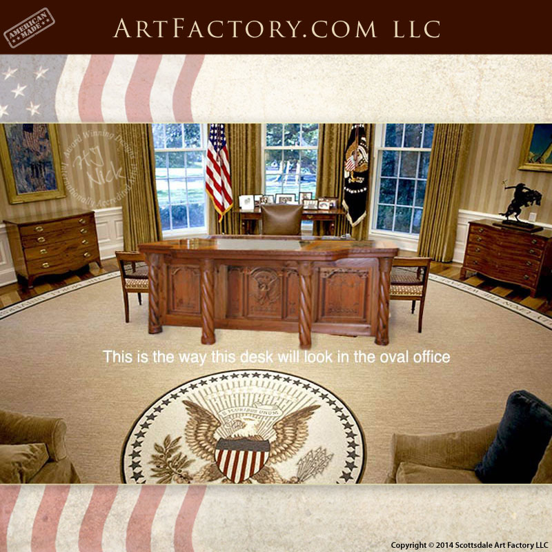 Presidential Oval Office Desk