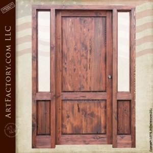 Elegant Custom Wood Door
