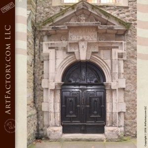 Hand Carved Church Door