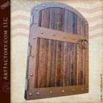 Fortified Medieval Raised Grain Wood Gates