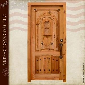 Roman Inspired Castle Door