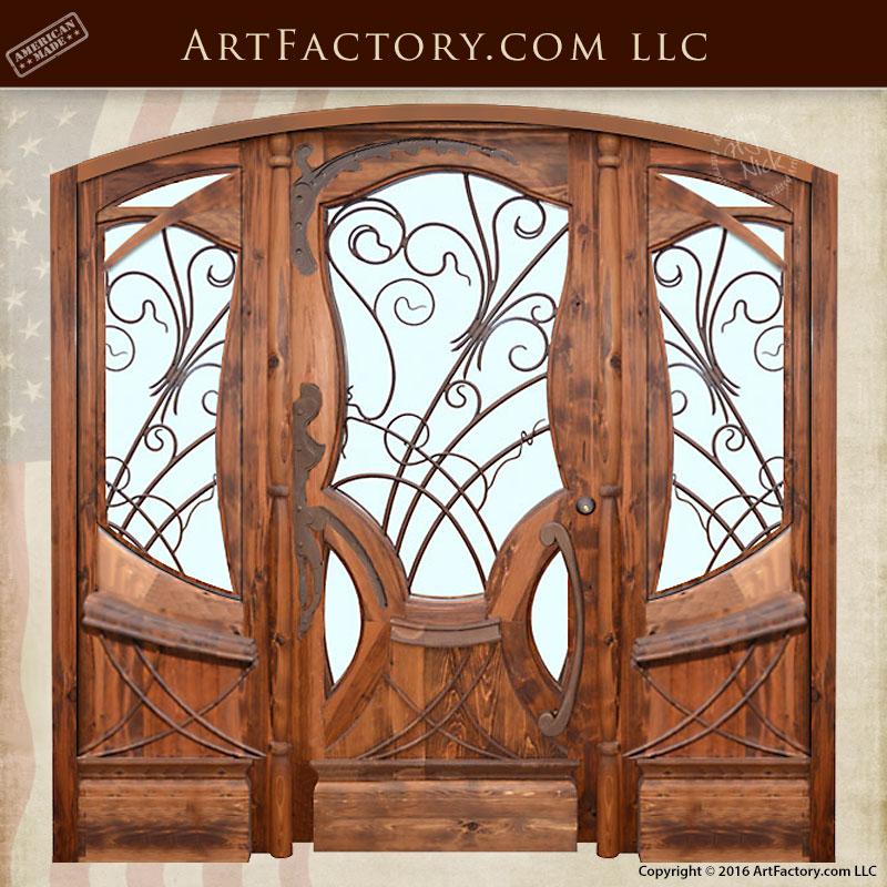 Jules Lavirotte inspired hand carved wood doors  sc 1 st  Scottsdale Art Factory & Doors: America\u0027s Oldest Manufacturer of Fine Art Doors