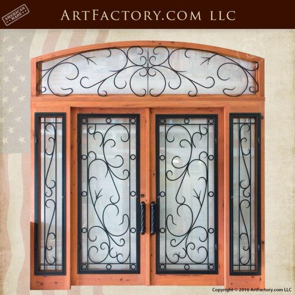 grand entrance double doors
