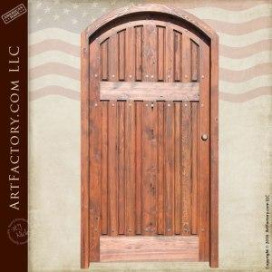 Solid Wood Multilevel Plank Door