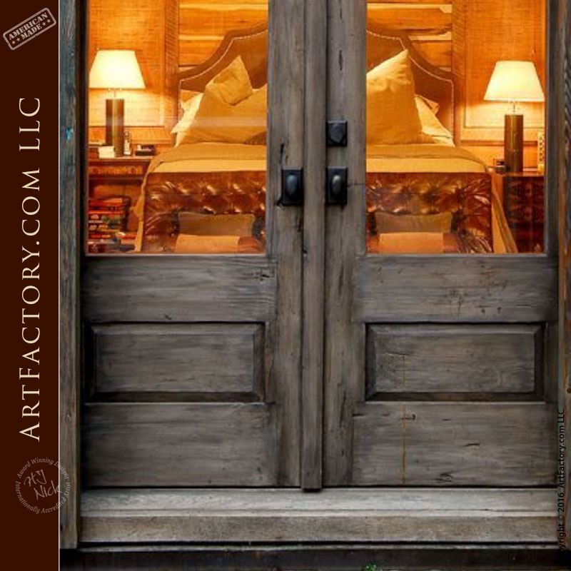 barn style custom wood door