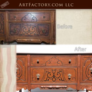 antique restoration finishes