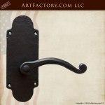 Luxury Lever Custom Door Handles - Hand Forged