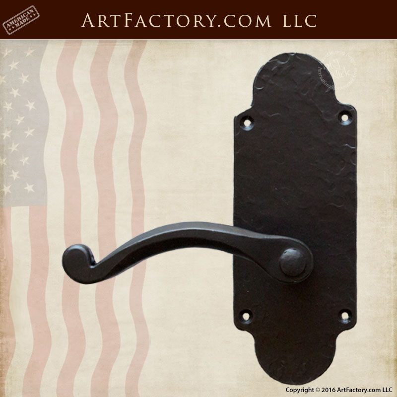 wrought iron kitchen chairs island kitchens luxurious lever custom door handles - solid hand forged