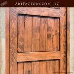 3 panel wood entry door